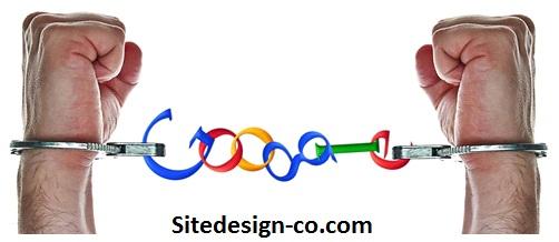 رفع مجازات گوگل