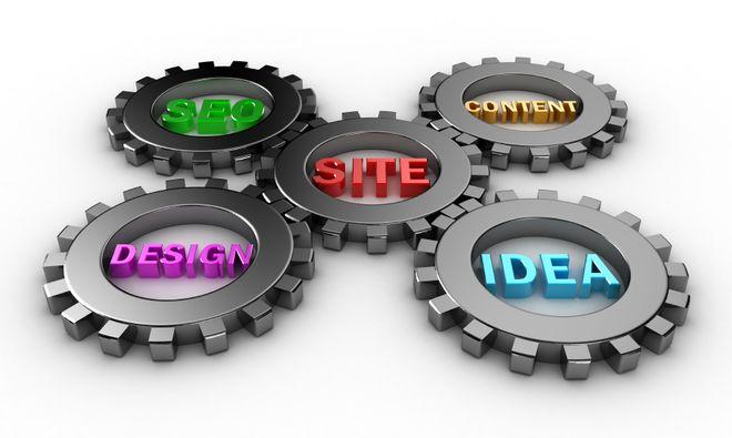 سئو + طراحی + ایده